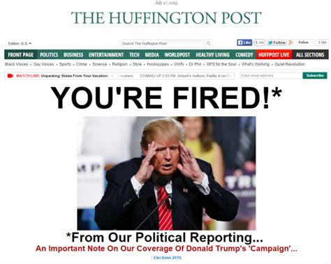 huffington post sections donald trump huffington post entertainment polling