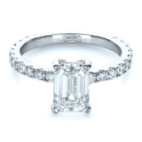 unique radiant cut engagement rings more information