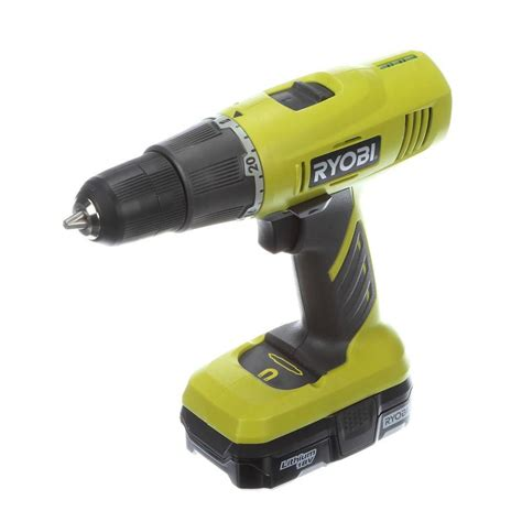 ryobi 3 8 inch one lithium ion drill driver kit the
