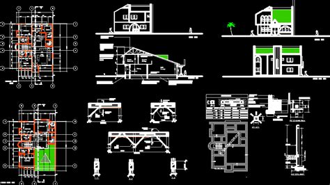 home design autocad free download house design in autocad drawing bibliocad