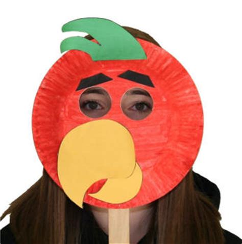 Paper Plate Parrot Craft - paper plate parrot craft