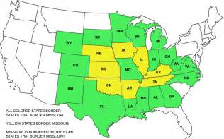 states that border states that border missouri quiz by kenhi