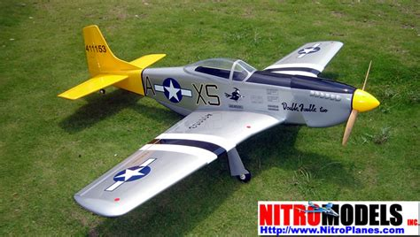 trouble p 51d warbird mustang 60 70 quot nitro gas