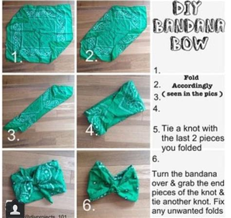 diy bandana bandana bow crafty things bandana bow bandanas and bows