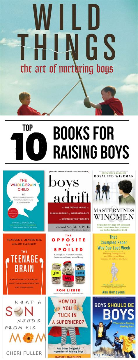 top 10 parenting books for raising boys modern parents