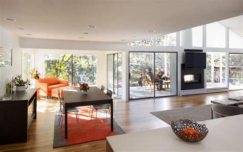 foyer synonym bright sided fireplace vogue denver midcentury