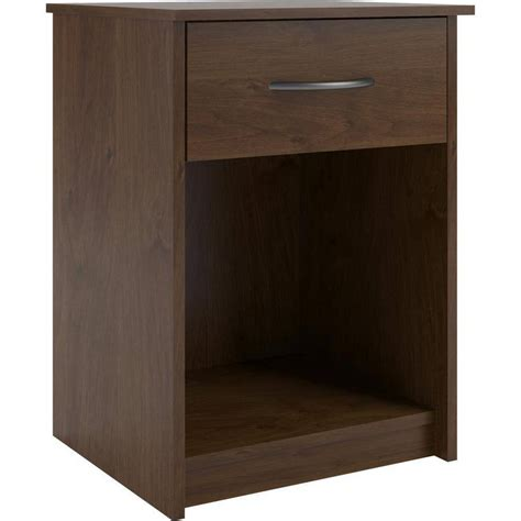 bedside stand nightstand night stand end table 1 drawer furniture