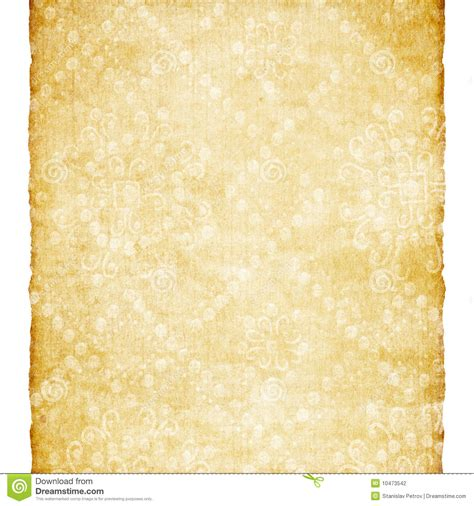 Aged Paper With Classic Ornament Stock Photography   Image