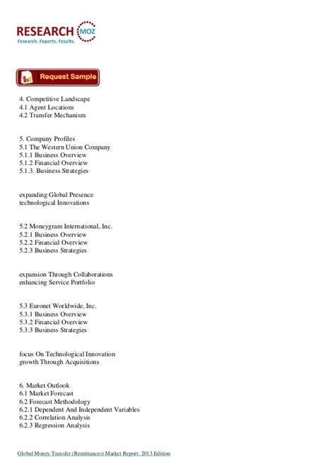 global money transfer global money transfer remittances market report 2013