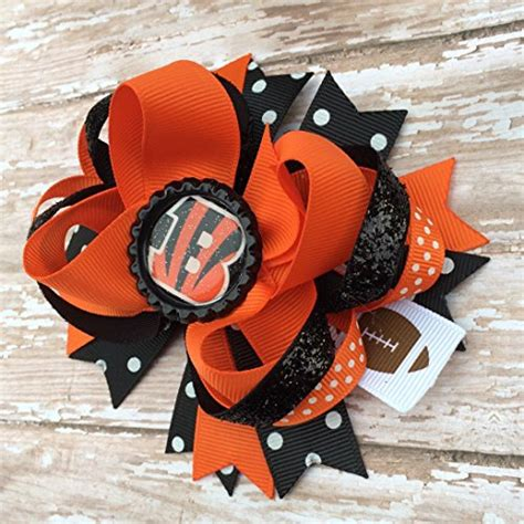 Headband Ribbon Keith bengals hair bows cincinnati bengals hair bow bengals hair bow cincinnati bengals hair bows