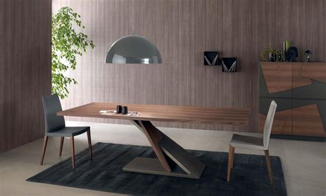Esszimmer Le Bronze by Java Dining Table In Walnut Wood Veneered And Bronze Metal