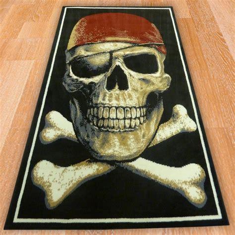 pirate rugs pirate skull children s rug carpet runners uk