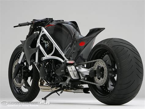 Handmade Motorcycle - single seater fighter custom cruisers