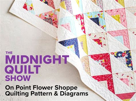 quilt pattern diagrams midnight quilt show on point pattern and diagrams craftsy