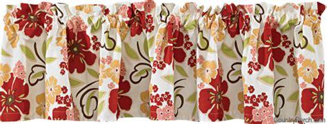 poppy kitchen curtains poppy curtain valances