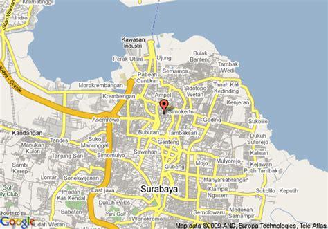 Surabaya W map of j w marriott hotel surabaya surabaya