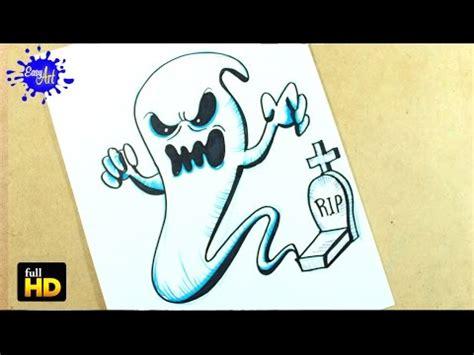 imagenes de halloween para dibujar a lapiz halloween como dibujar un fantasma paso a paso how to