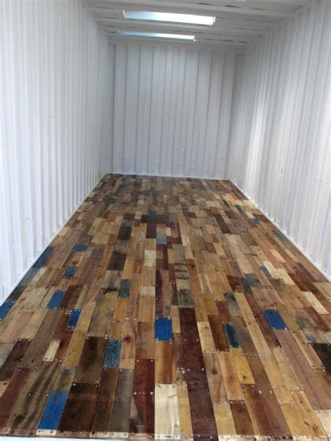 Pallet Wood Floor Relaxshacks Cheap Free N Funky Decor For Your Home