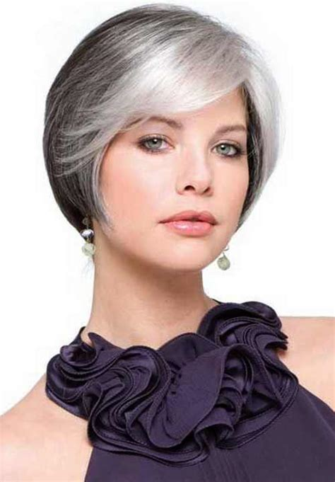 hairstyles and colours for over 50s fresh short bob haircut for women with short hair in