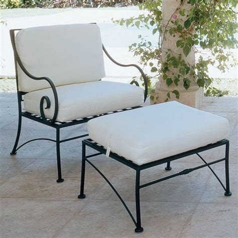 Inspiring Wrought Iron Patio Furniture Vintage Wrought Iron Lounge Chairs With Cushions Seat