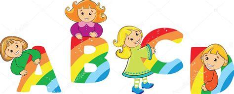 imagenes de niños alegres animados ni 241 os felices de dibujos animados con la letra del arco