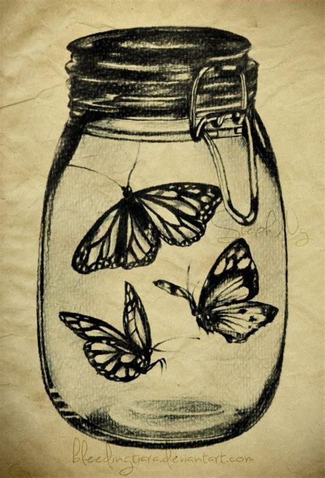 butterfly jar tattoo butterfly in jar tattoo tattoo collection