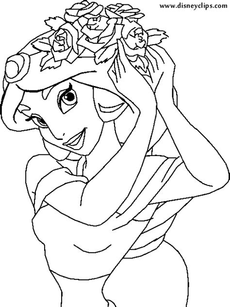 coloring pages of jasmine flower jasmine flower bouquet coloring pages
