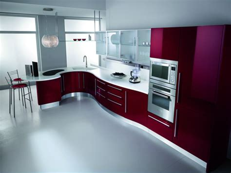 Modern Kitchen Interior Design Images by Ultra Modern Designer Kitchens Luxury And Modern Maroon