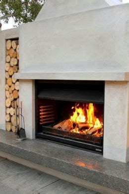 Outdoor Open Fireplace by 17 Best Ideas About Outdoor Gas Fireplace On