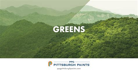 ppg pittsburgh paints green paint colors