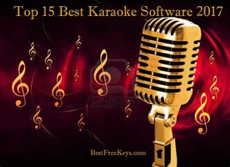 karaoke songs best 15 best karaoke software 2018 to sing karaoke songs free