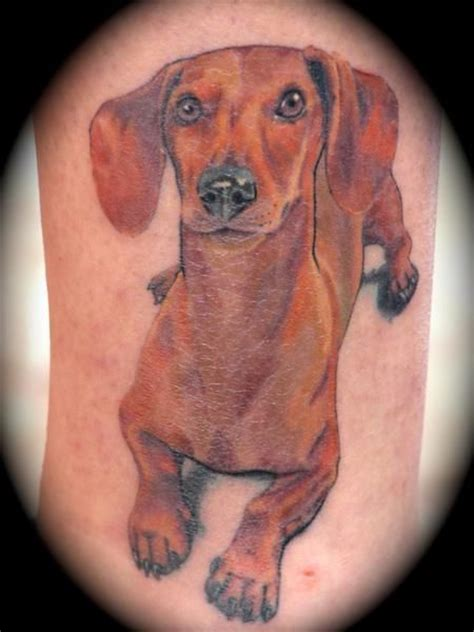 dachshund tattoos 72 best images about dachshund tattoos on more