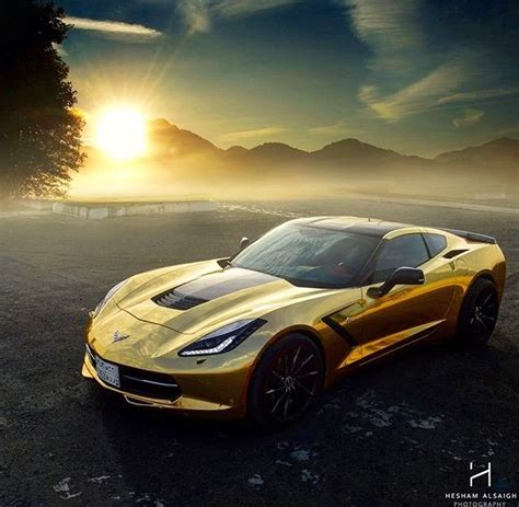 corvette stingray gold 84 best images about gold and chrome cars on
