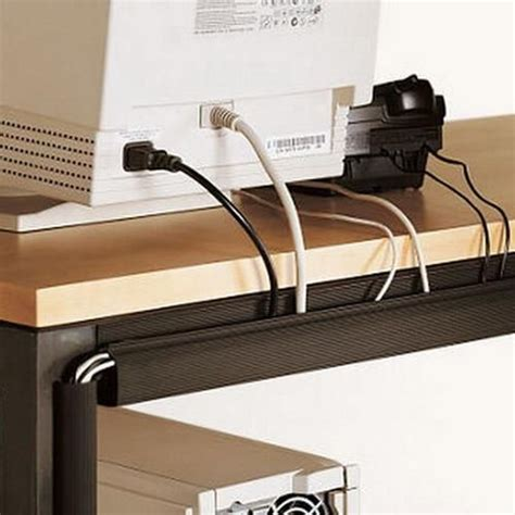 Office Desk Cable Management 63 Best Office Images On Pinterest Cable Management Desk And Office Ideas
