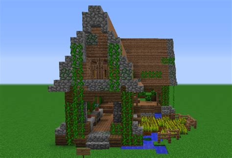 minecraft jungle house designs jungle farm house grabcraft your number one source for minecraft buildings