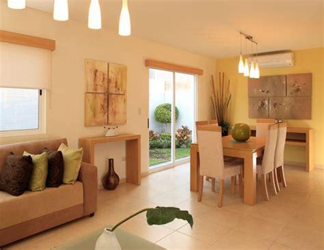 ideas  decorar sala comedor livings colores calidos