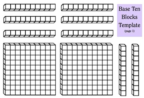 Place Value Cards Template by Place Value Primer Boy
