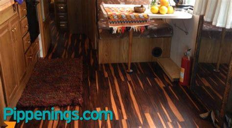 Rv Flooring Ideas by Rv Renovations Best Flooring Options Pippenings