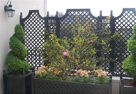 privacy trellis screen outdoor wood privacy trellis home fencing and gates