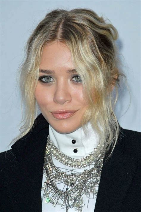 mary kate olsen boho hair off the shoulder slouchy top