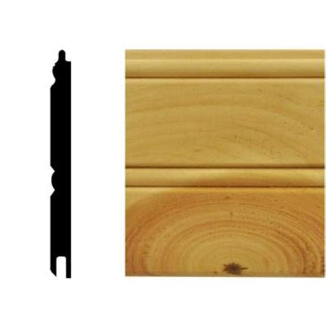 Tongue And Groove Wainscot Paneling by House Of Fara 0 67 Sq Ft America Knotty Pine
