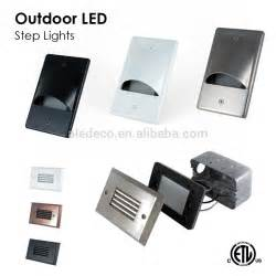 outdoor led step lights rt05 etl approved outdoor led step light view led