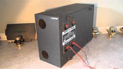 Speaker Bose Am5 bose acoustimass am5 woofer test