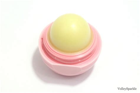 Eos Visibly Soft Lip Balm Sphere Coconut Milk eos coconut milk visibly soft lip balm sphere review volleysparkle