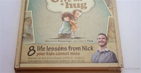 book review give me a hug 8 life lessons from nick your a happy mum singapore parenting blog