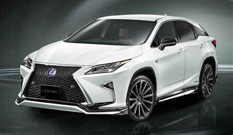 lexus trd lexus rx trd bodykit debuts gets improved stability