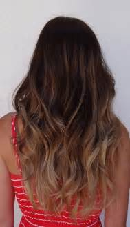 fantastic ombre hairstyles for wavy hair light