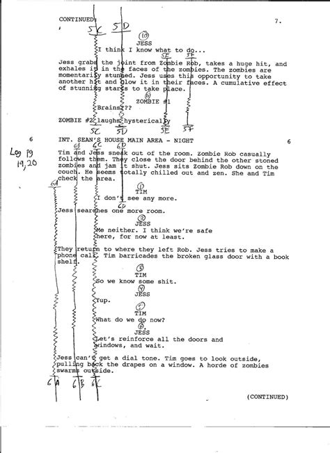 script supervisor notes template script supervisor david b