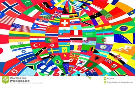 flags of the world background background of world flags stock illustration image 48176734