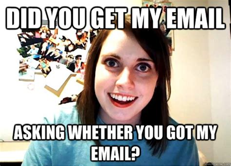 Meme Email - prospecting habits that are annoying boring and needy